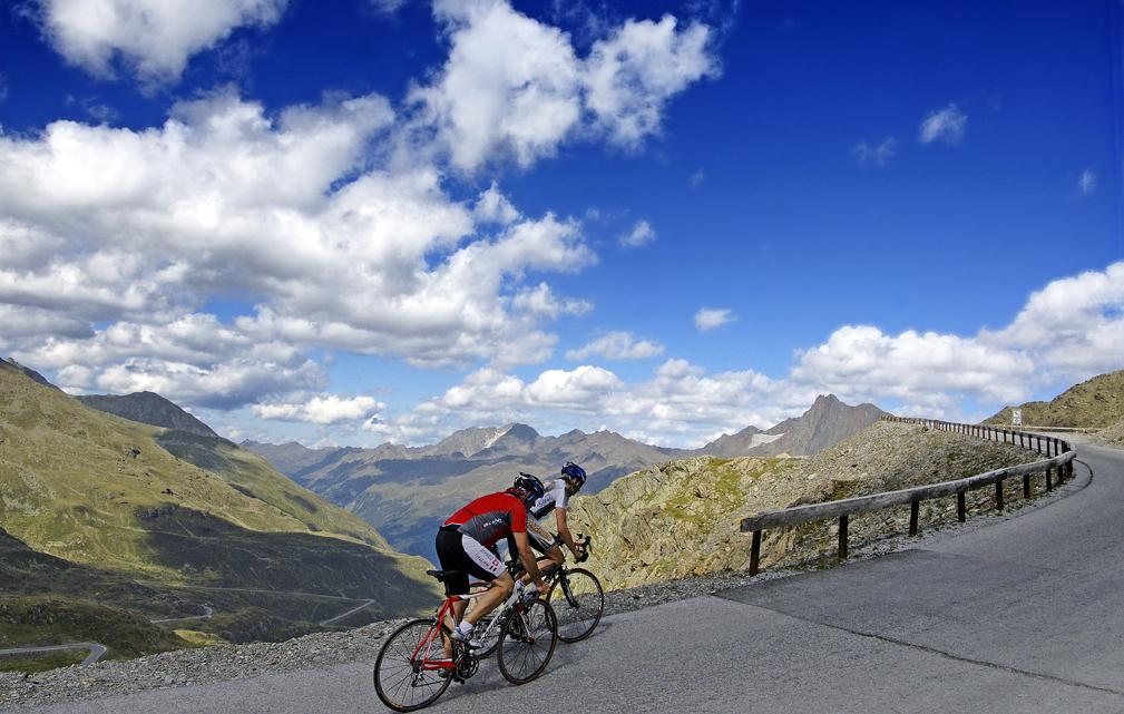 Rennradtour Nauders am Reschenpass © SONY DSC