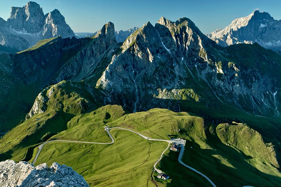 Dolomitenpässe Cortina Italien © bandion.it