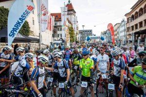 Start des Kufsteinerland Radmarathons 2018