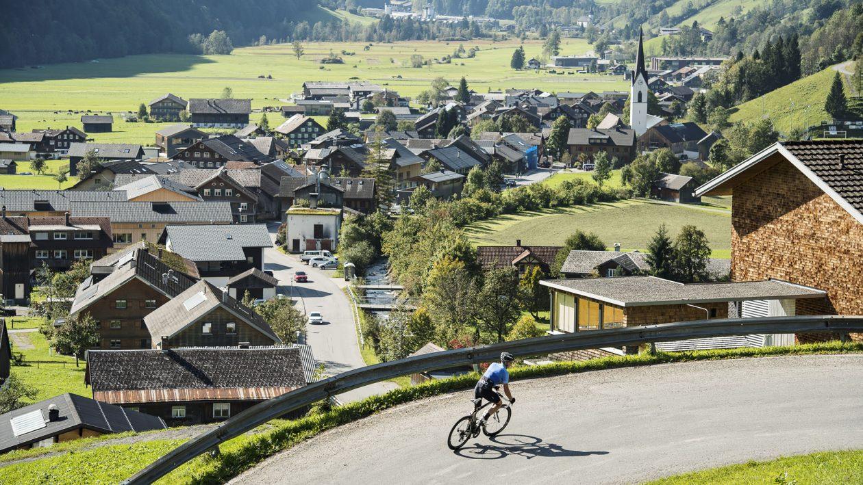 Rennrad Urlaub im Bregenzerwald © Mellau Tourismus - Alex Kaiser