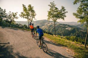 Rennrad Tour in der Emilia Romagna © molography