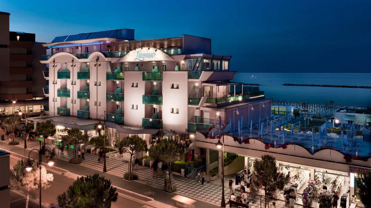 Rennrad Hotel Lungomare in Cesenatico © Mario Flores