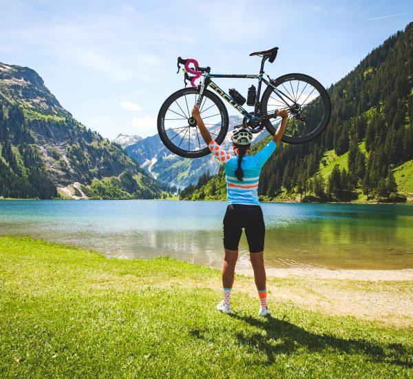 Rennrad Frauen-Power