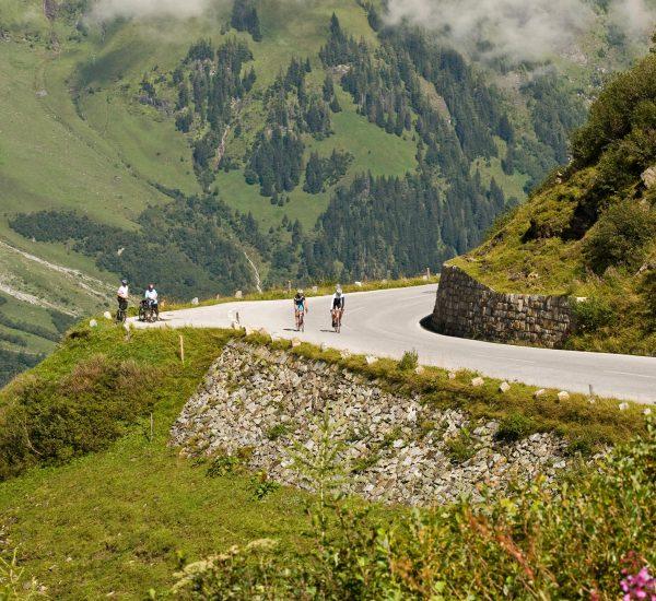Rennrad fahren im Pinzgau